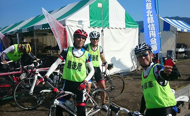 こちらは100kmコースのメンバー