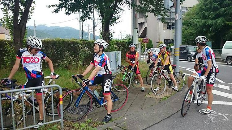 亀岡にて。厳しい走りでした。