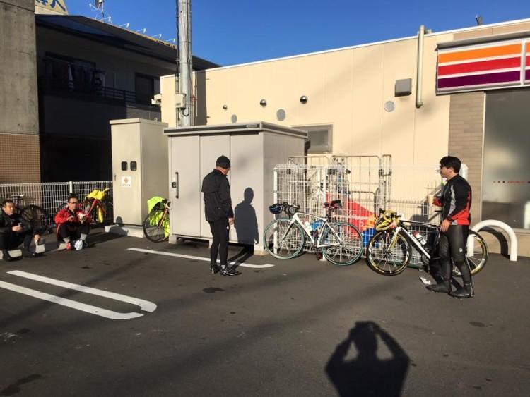12月20日(日)の練習会報告(サイクリング班)