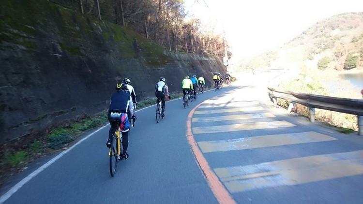 帰りは宇治川ラインを走行します。