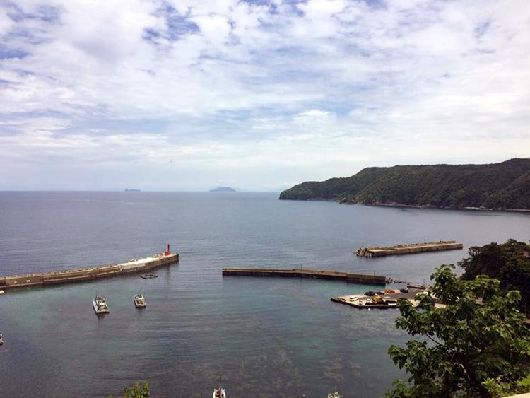 TANTANロングライドのコースは、山あり、海ありで景色は最高です!