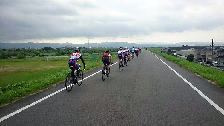 6月26日(日)の練習報告 サイクリング班