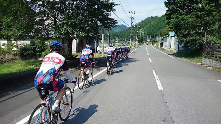 日吉に向けて高速巡航が始まります。 この後、松ちゃんがアタックします。