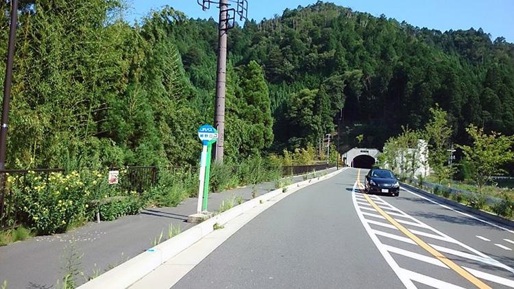 暑さで辛い中、京北トンネル(3,210m)は涼しいです。