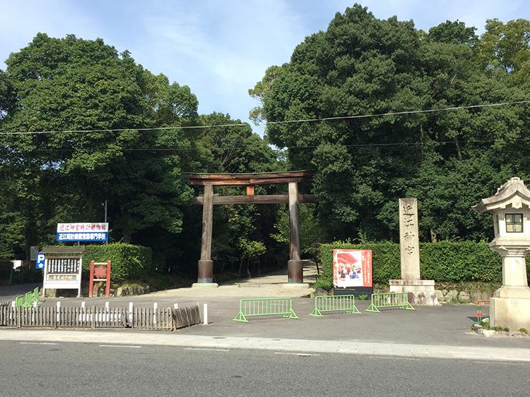 ちはやふるお馴染み近江神宮